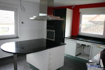 Küchenarbeitsplatten aus Nero Assoluto